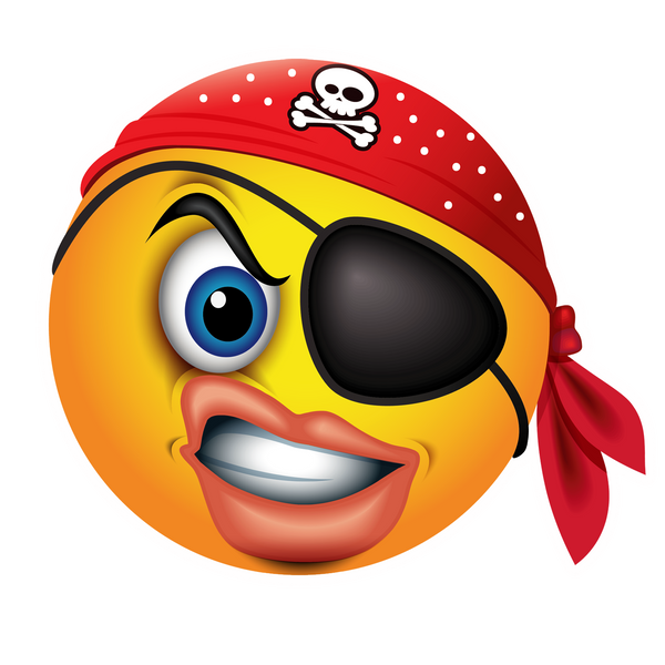Pirate emoji