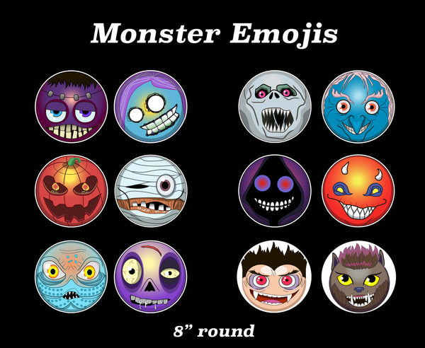 Monster Emojis