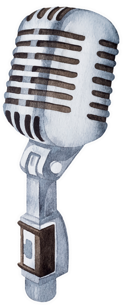 Retro Microphone - NEW!
