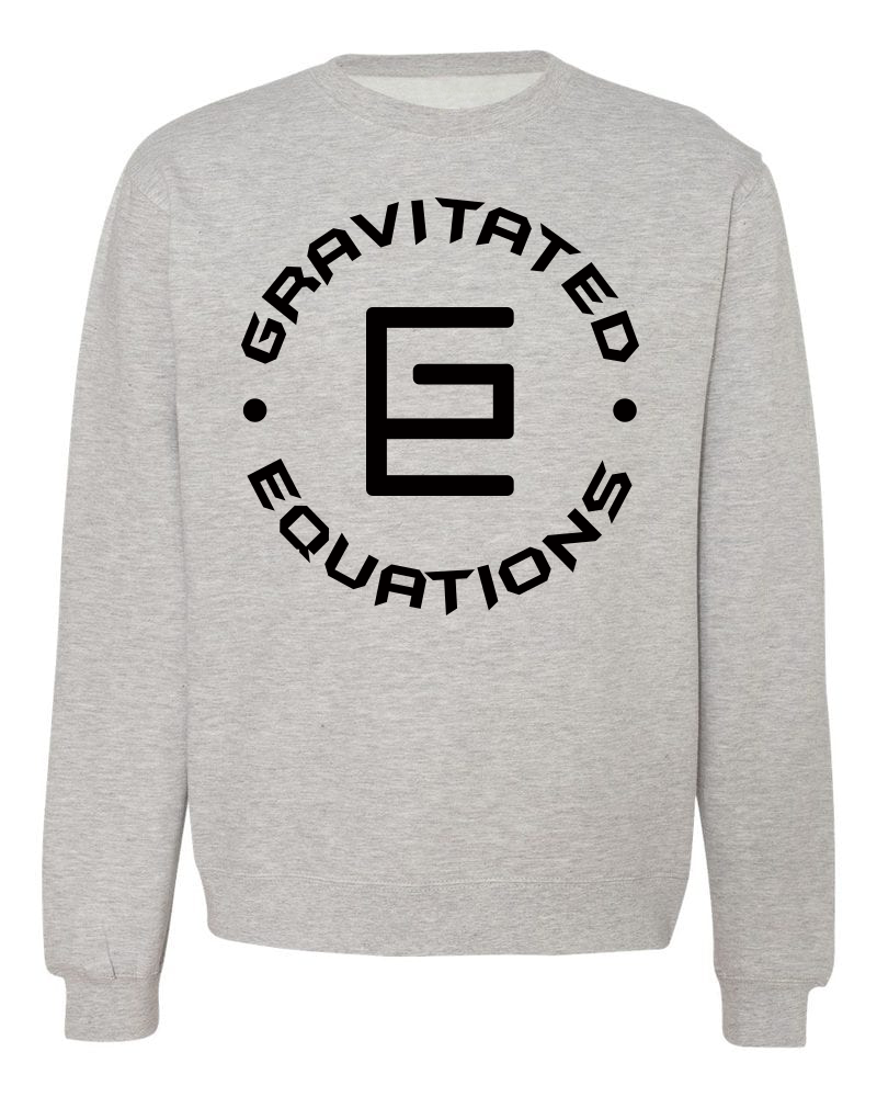 Circle Crewneck (Gray/Black) - ( GRAV )