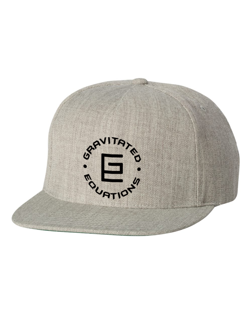 Circle Snapback (Gray) - Gravitated Equations ( GRAV )