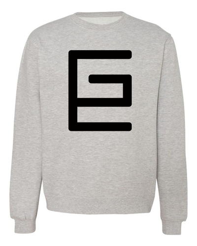 Classic Crewneck (Grey/Black) - Gravitated Equations