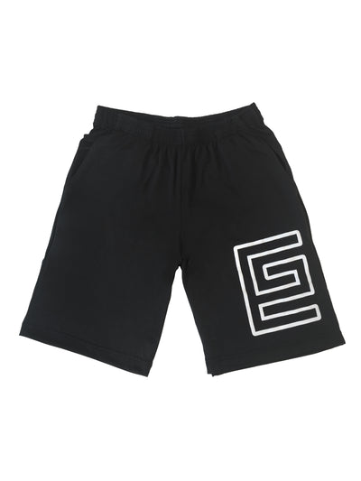 Grav Hollow Athletic Shorts (Black)