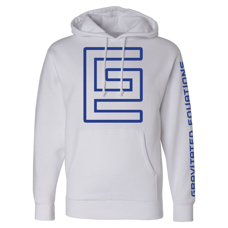 Hollow Hoodie (White/Blue)