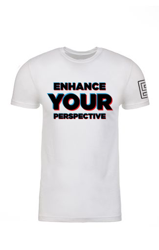 Enhance Your Perspective Tee (White)
