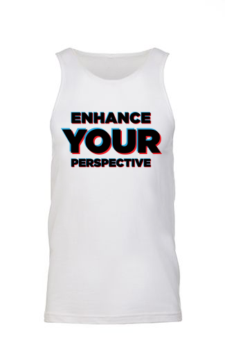 Enhance Your Perspective Tank (White)