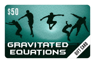 $50 Gift Card - Gravitated Equations  (GRAV)