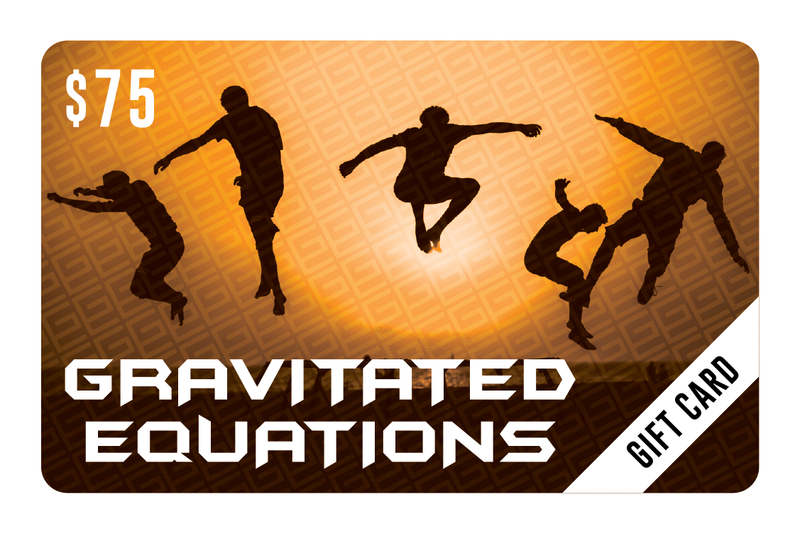 $75 Gift Card - Gravitated Equations (GRAV)