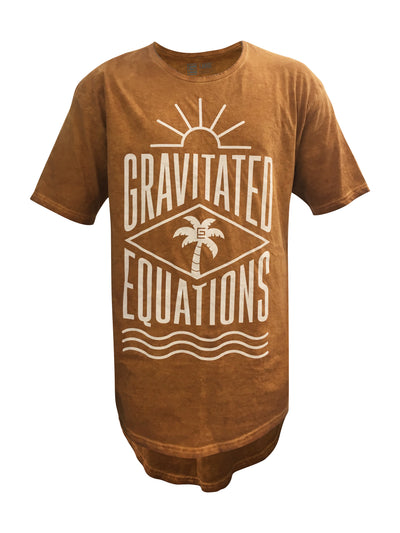 Gravitated Equations ( GRAV ) Clothing & Apparel - Cali Drop Tail Tee