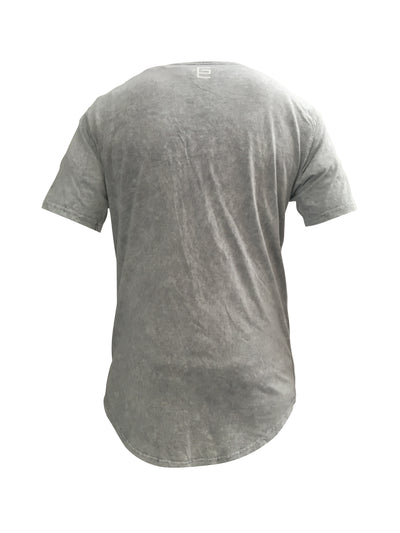 Gravitated Equations ( GRAV ) Clothing & Apparel - Snowfall Drop Tail Tee