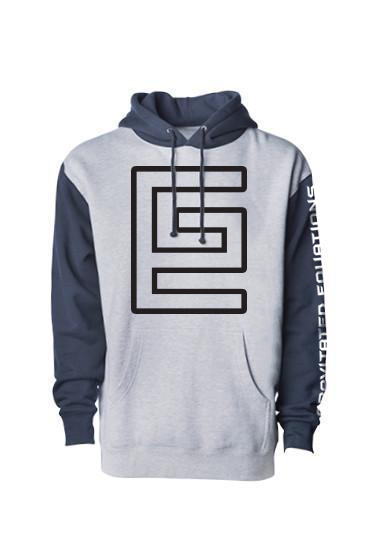 Hollow Hoodie (Gray/Blue/Black)