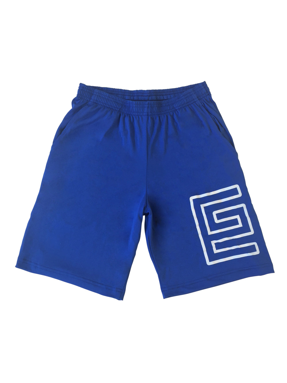 Grav Hollow Athletic Shorts (Blue)