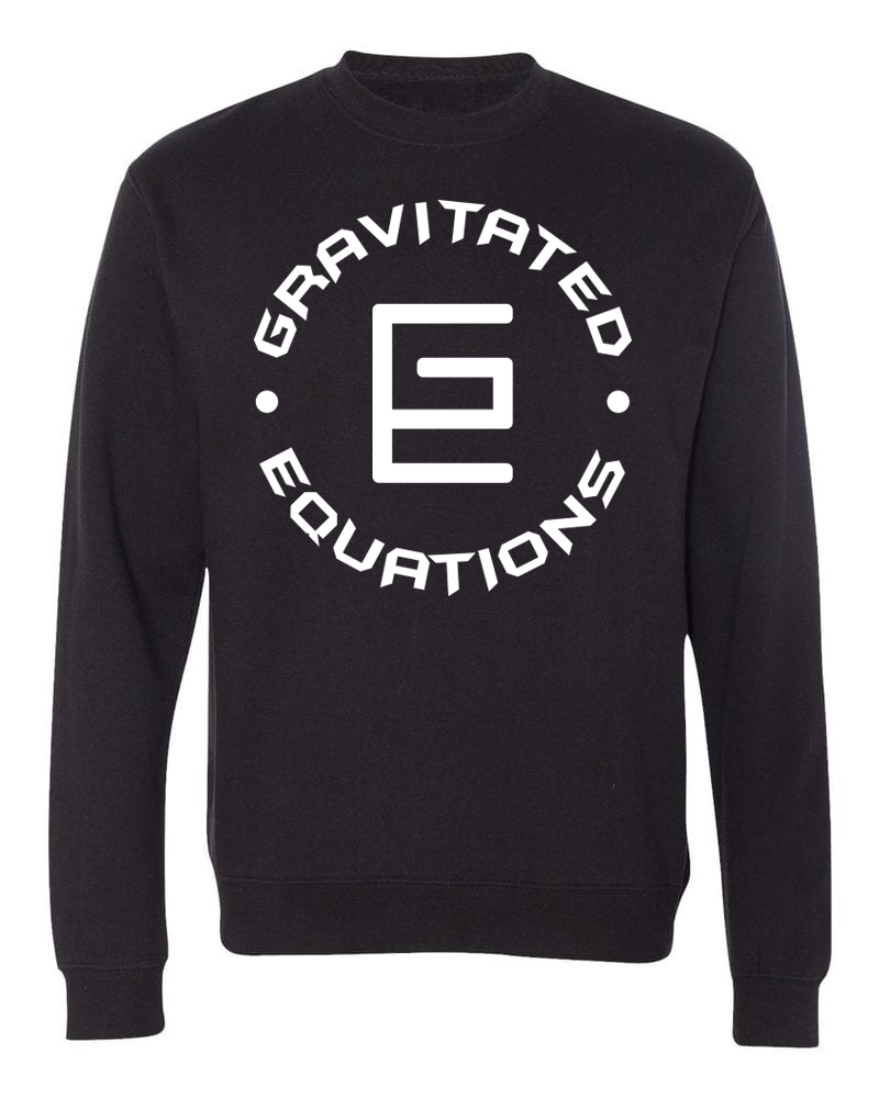 Circle Crewneck (Black/White) - ( GRAV )