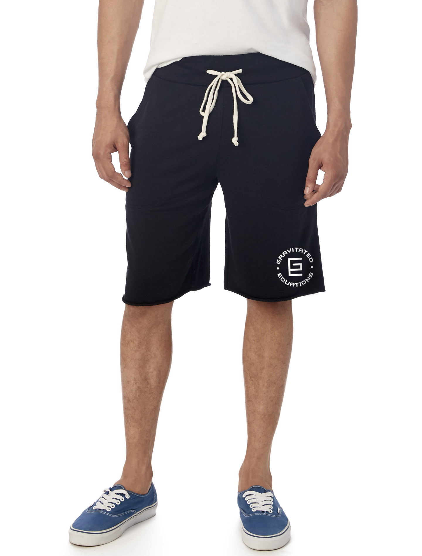 Circle French Terry Shorts (Black)