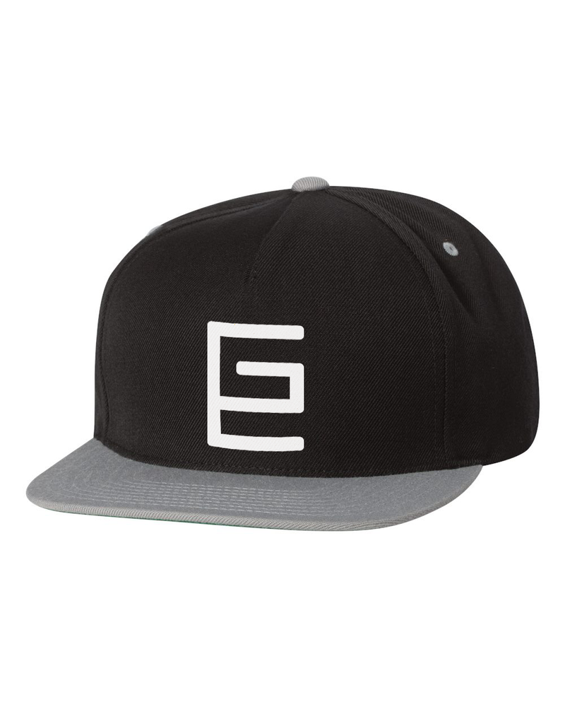 Classic Snapback (Black/Silver) - Gravitated Equations