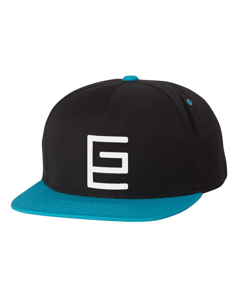 Classic Snapback (Black/Teal) - Gravitated Equations