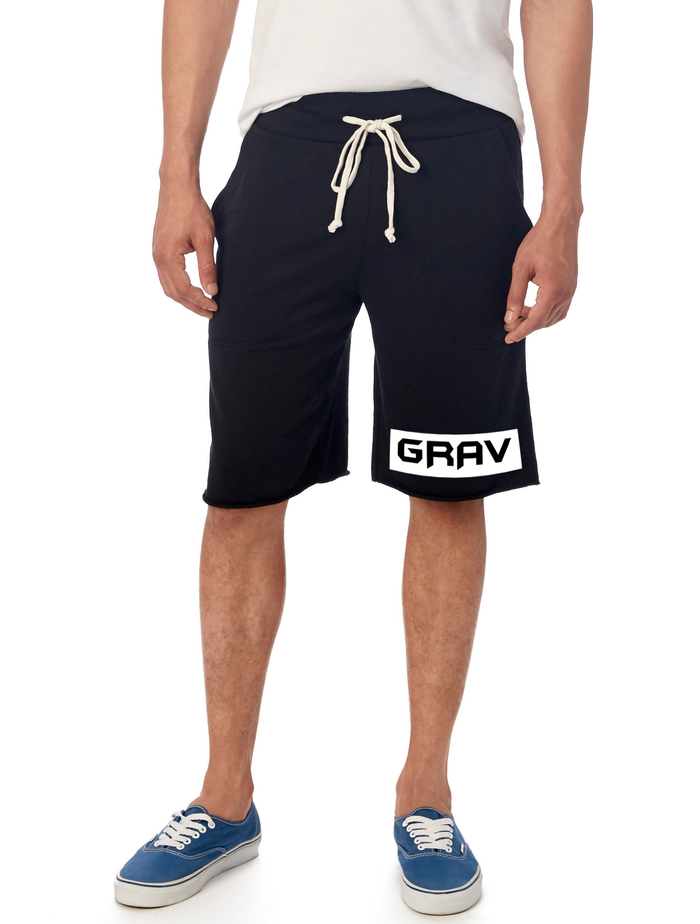 GRAV French Terry Shorts (Black)