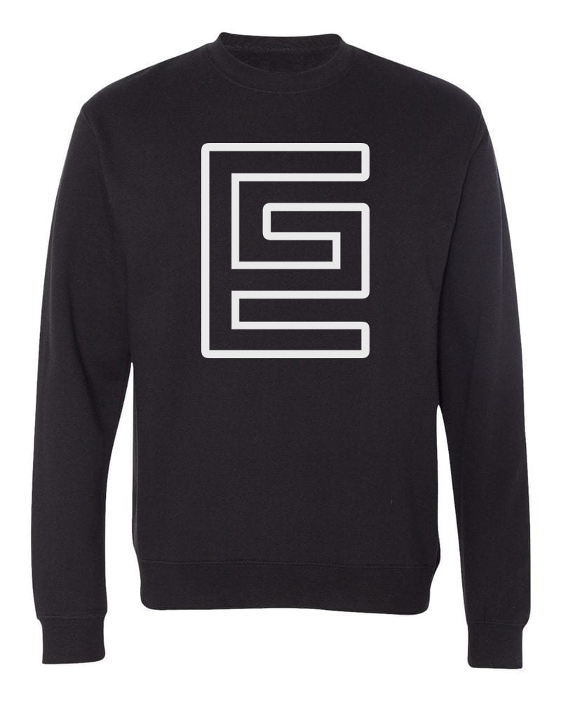 Hollow Crewneck (Black/White)