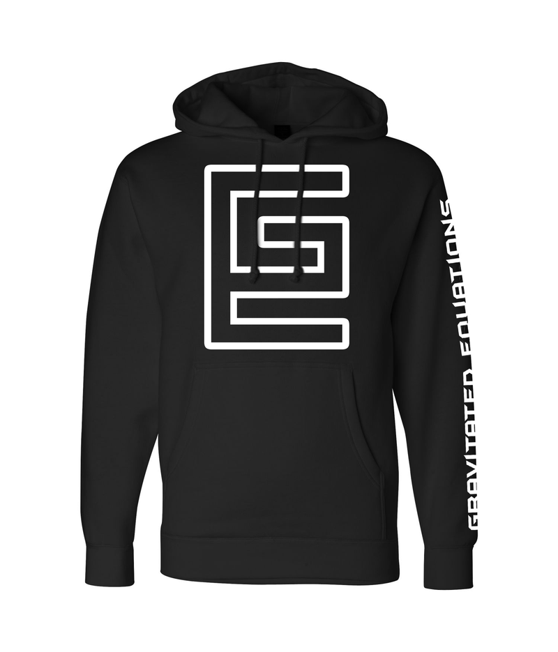 Hollow Hoodie (Black/White)
