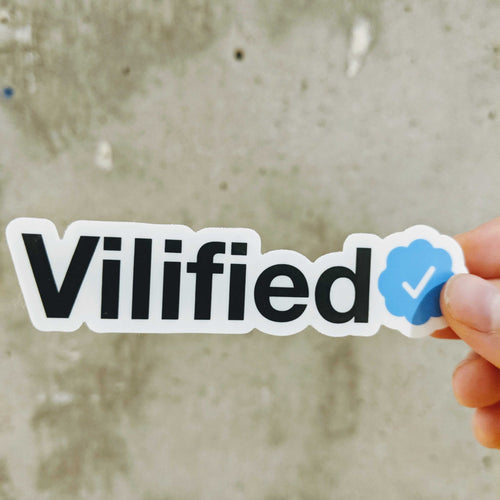 Twitter Vilified Sticker