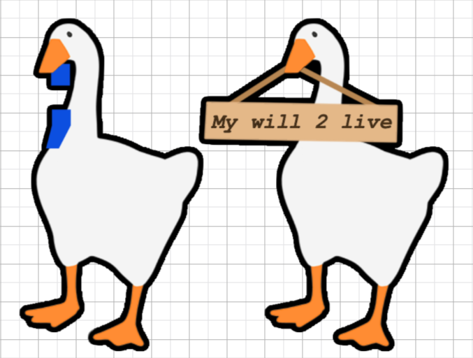 Untitled Goose Game Stickers