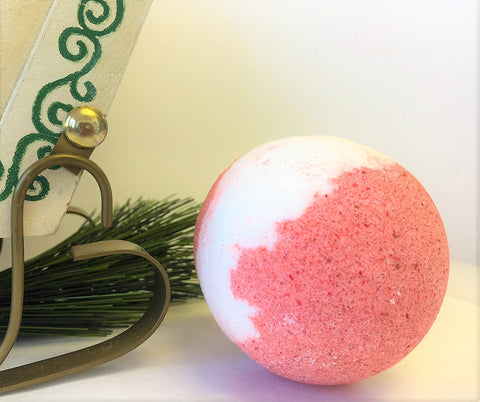 Bath Bomb, Peppermint Candy
