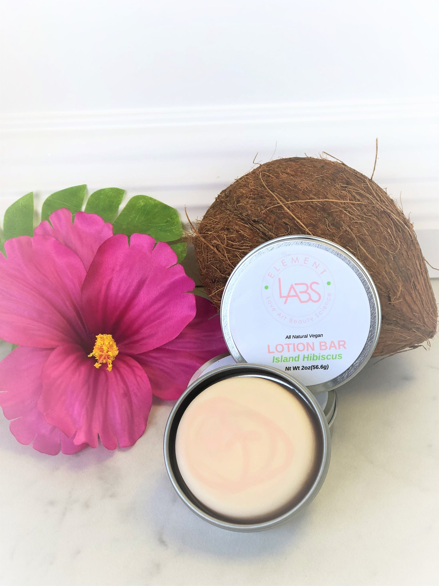 Island Hibiscus Lotion Bar