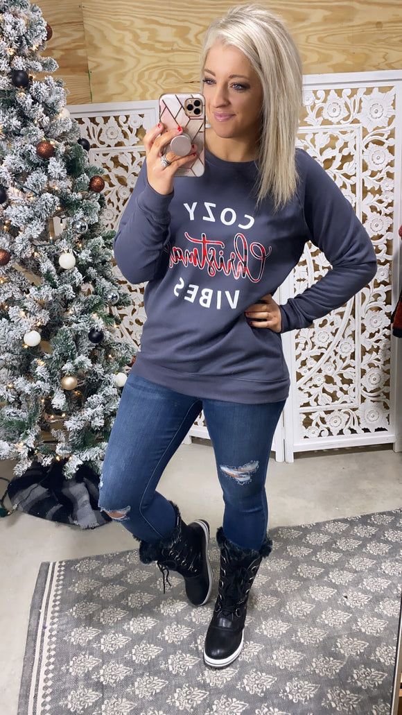 Cozy Christmas Vibes Sweatshirt