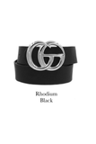 GG Belt- {Black}{Brown}{Taupe}