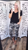 Free To Love - Army Printed Pants