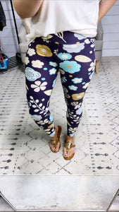 Fun Floral Leggings