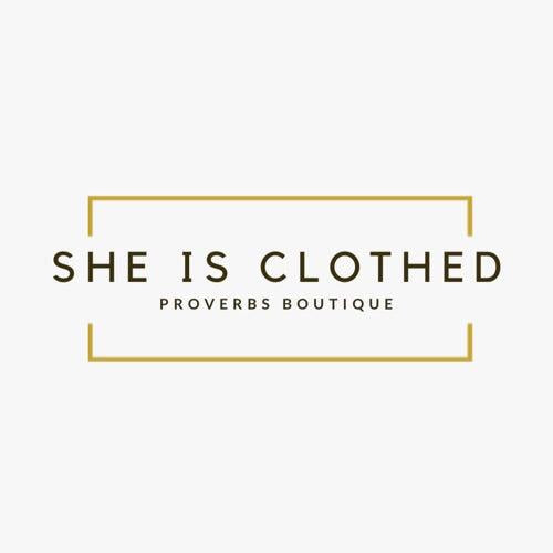 She Is Clothed Style Bag