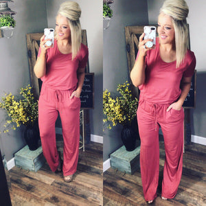 All In- Paprika Jumpsuit