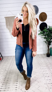 Love Is True- Dark Mauve Jacket