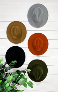 Hang On Tight- {Black, Gray, Camel, Olive, Rust} Adjustable Hat