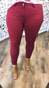 Ruby Red Pants