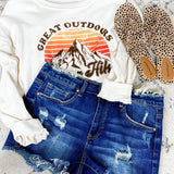 The Kathy's- Distressed Denim Shorts