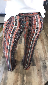 Get After It- BOHO Palazzo Pants