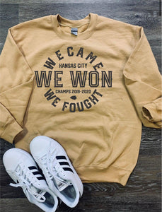 We Came/Fought/Won Sweater