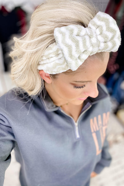 Spa Headband- {Chevron/Black Leopard/Brown Leopard/Tan Leopard}