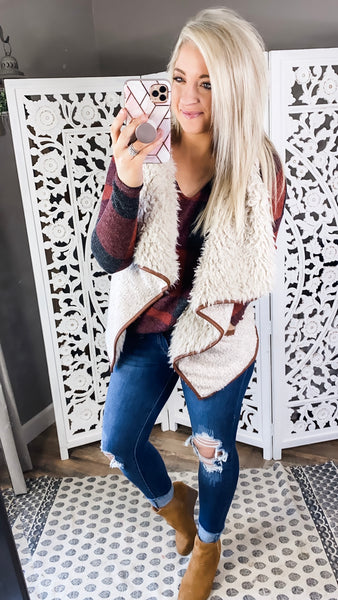 There's Still Time- Fur Vest