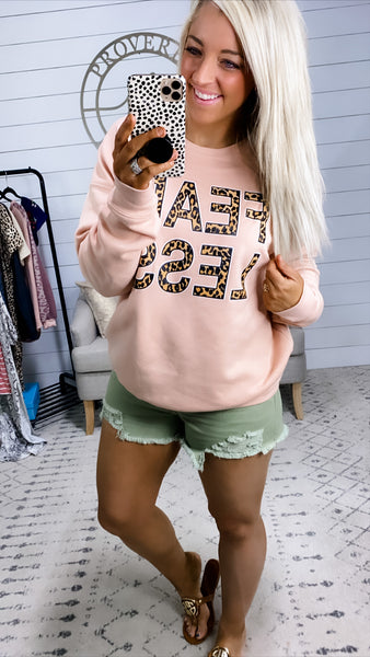 Blush FEARLESS Sweatshirt