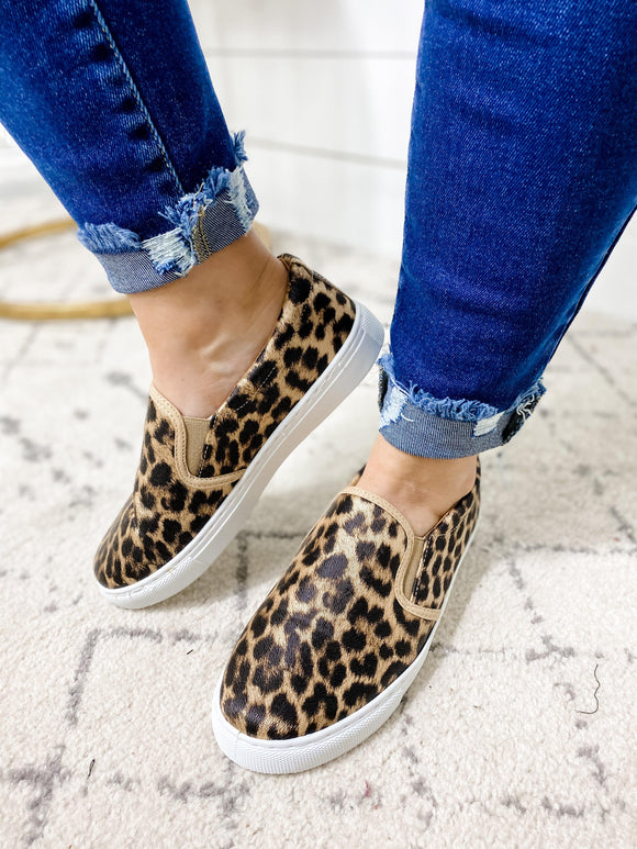 Flat Out Fun- Leopard Flats