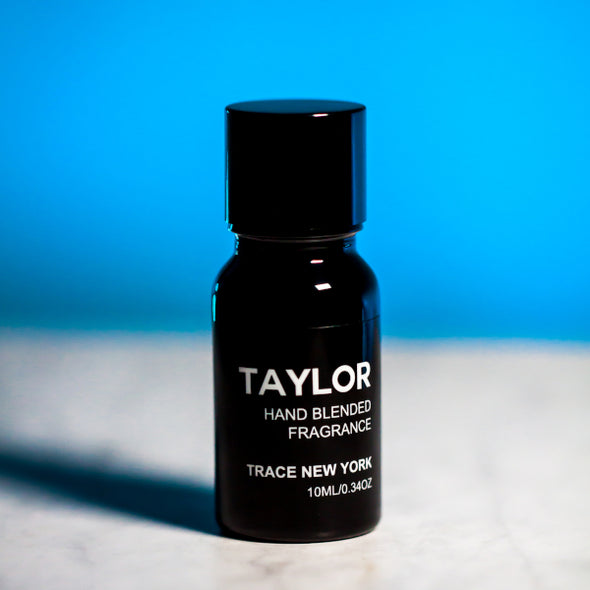 TAYLOR FRAGRANCE OIL 10ML BOTTLE BY TRACE NEW YORK LLC