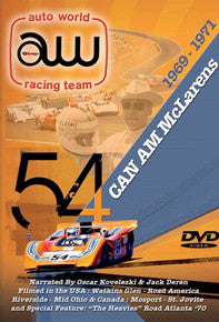Can Am McLarens 1969-1971 DVD