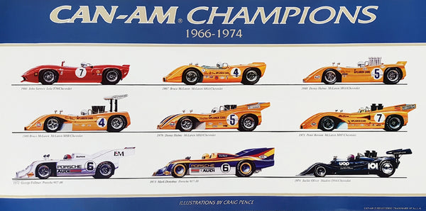 Can Am Champions Poster