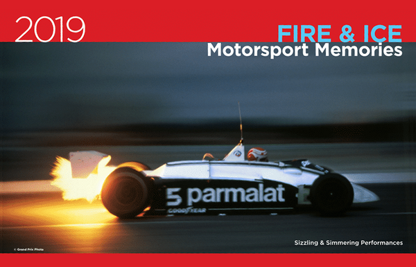 "2019 Motorsport Memories ""Fire & Ice"" F1 Calendar"