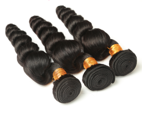 Loose Wave hair extension bundles