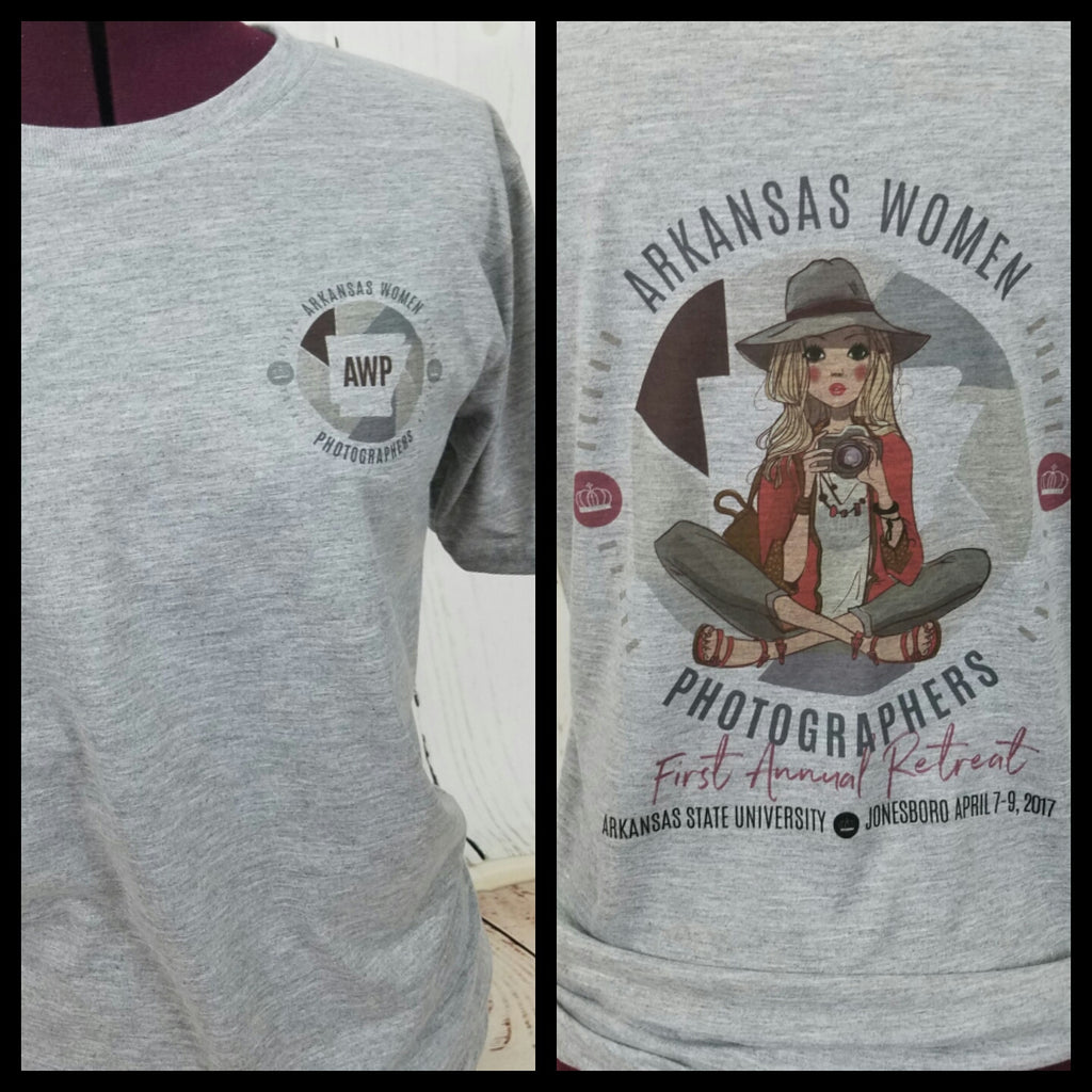 Copy of Arkansas Womens Photographers Retreat Shirt for Pickup