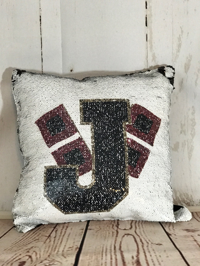 Jonesboro Sequin Pillow (not personalized)